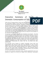 Executive Summary Tea Consumption 20062018 Pdf5940