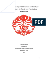 Final Paper Sports Law