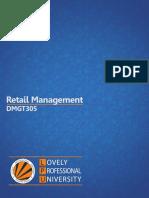 Dmgt305 Retail Management