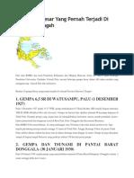 10 Gempa Besar Yang Pernah Terjadi Di Sulawesi