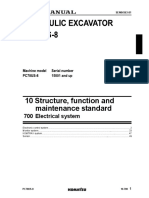 PC78US-8 Electrical System