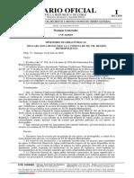 Decreto número 75, de 2019. MINISTERIO DE OBRAS PÚBLICAS. D.O. 07.09.2019 - Declara zona de escasez a la comuna de Til Til, Región Metropolitana