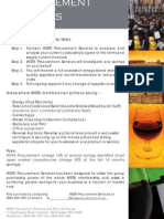 Procurement Services for Wine and Spirits