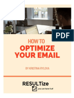 How to Optimize Your Email