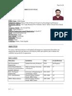 Aamir Resume I