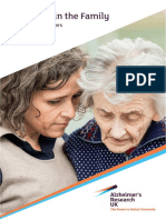 Dementia in the Family the Impact on Carers