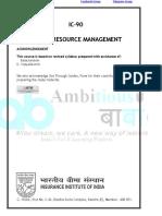 Ic 90 Human Resource Management (1)