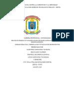 PROYECTO PANIFICADORA 123