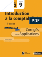 Nathan - DCG UE 9 - Introduction à la comptabilité - Manuel & Applications - 11e édition 2017 - Corrigés.pdf