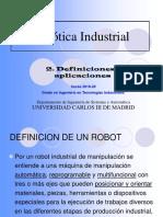 Definiciones de Robótica Industrial
