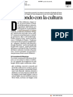 Nel mondo con la cultura - Il Corriere Adriatico dell'8 settembre 2019