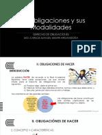 Semana 4 - Sábado - Derecho de Las Obligaciones - UNIDAD I