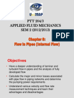 Chapter 8 Flow in Pipes (Internal Flow)
