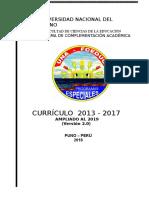 Estructura Curricular Actualizada