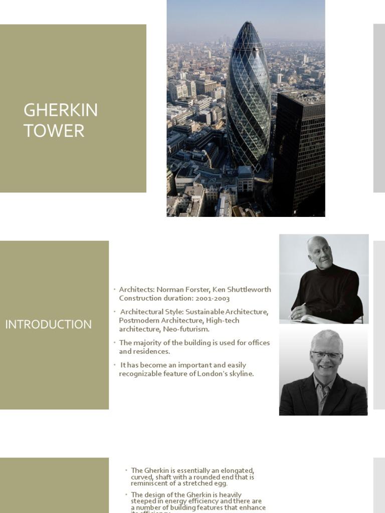 Gherkin Tower Deep Foundation Wound