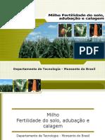MILHO Fertilidade_solo.ppt