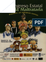 Congreso estatal infancia maltratada