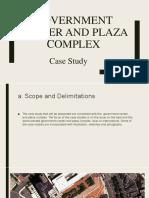 GOVERNMENT CENTER AND PLAZA COMPLEX.pptx