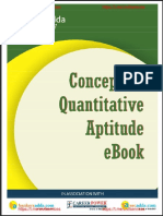 Quantitative Aptitude eBook For
