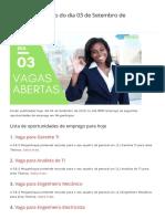 Vagas de emprego do dia 03 de Setembro de 2019 (113 VAGAS) - MMO.pdf
