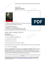 Appendix 2 Works List