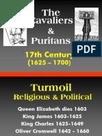 17th Century - Cavaliers & Puritans