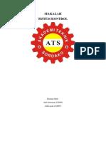 Makalah Induktor (Sistem Kontrol & Kelistrikan Mesin)