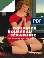 Exposition Du Douanier Rousseau à Séraphine - Les grands maîtres naïfs au Musée Maillol