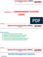 Bpo2-Module 2 Quality Management Systems