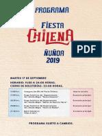 Fiesta Chilena Ñuñoa 2019