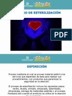 Proceso de Esterilización