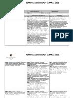 Planificación Ciencias Cuarto 2018