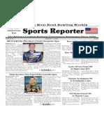 September 11 - 17, 2019  Sports Reporter