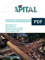 Communication technologies for ITS and C-ITS including relevant standards Capital Wp3 Its4 Final 27.5.2019