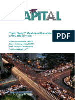 Cost-benefit analyses of ITS and C-ITS services Capital Wp3 Its7 Final 27.5.2019