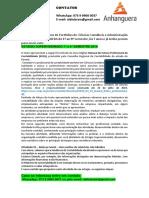 PRODUÇÃO TEXTUAL INTERDISCIPLINAR DE ESTÁGIO SUPERVISIONADO 7° e 8° SEMESTRE 2019