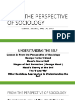 Uts Lesson 2 From the Perspective of Sociology