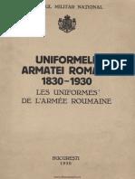 Uniformele Armatei Romane PDF (1)