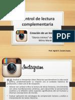 Creación de Instagram o Facebook