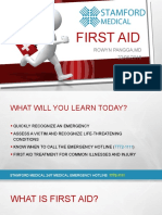 First Aid Lecture2