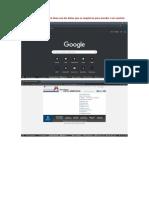 Complete un formulario en línea con los datos que se requieren para acceder a un servicio.docx