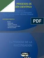 UNIDAD II - Procesos de Investigación Científica