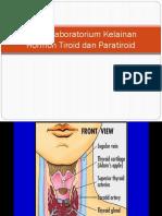 Aspek Laboratorium Kelainan Hormon Tiroid Dan Paratiroid 2016