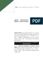 1.01- Pet. Inicial - Concessão de Auxílio-doença - Modelo Genérico Para Incapacidade Temporária