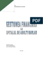 Gestiunea Financiara La Spitalul Barlad [1].
