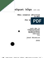 August Högn - Edition; Veni_creator_spiritus_B-Dur