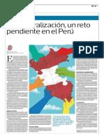 Descentralización, Un Reto Pendiente en El Perú