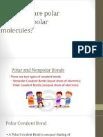 Polar and Nonpolar Bonds