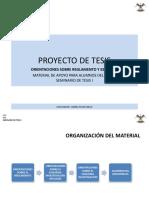 Material de Apoyo Proyecto de Tesis