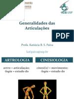 Aula Artrologia
